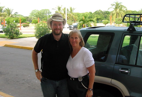 Dylan Fox & Mom at Manzanillo Aeropuerto