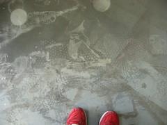 beb (lauraknosp) Tags: footprints providence risd saucony beb rhodeislandschoolofdesign