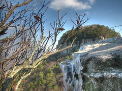 Ice at Pilot Mountain HDR (Mark_W) Tags: winter ice canon nc northcarolina hdr pilotmountain 3xp photomatix s3is canons3is