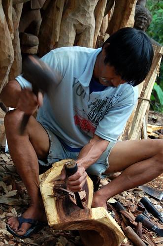 Ifugao Wood Carver