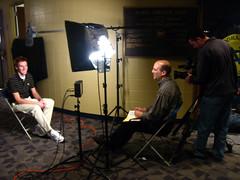 ESPN E:60 shoot at Notre Dame
