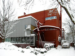 Ravine House (livinginacity) Tags: new winter urban house toronto canada building home architecture modern buildings wow wonderful design living cool mckay superb pierre contemporary military awesome machine canadian architect waterloo wicked don residential  metropolitan recent joyous   inventive    allusive  donaldmckay chareau  maisondeverre pierrechareau ravinehouse  a holthinshawpfaujones architectureincanada