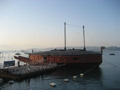 Turtle Boat replica in Yeosu
