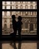 Love is patient, love is kind. (WanderWorks) Tags: door italy milan building window silhouette museum sepia children couple pair valentine embrace facetoface valentinesday dscn8638lmpc4g dscn8638c4nsepiag