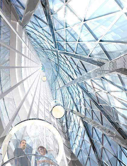 megapost, arquitectura moderna