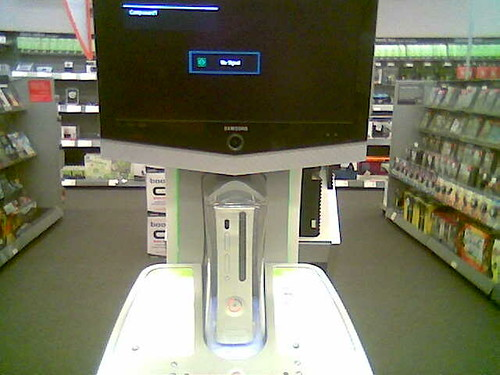 Red Ring of Death Xbox 360 at Circuit City
