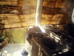 My bath on Rarotonga
