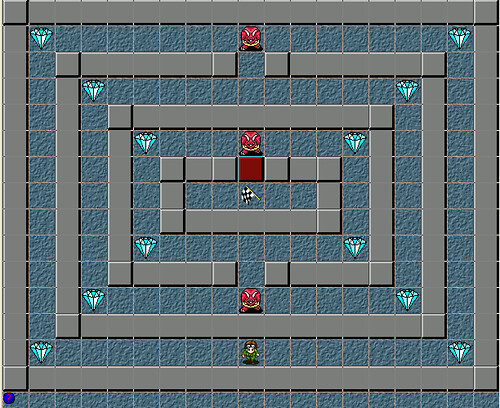 how to make a maze game in game maker