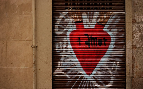 spanish graffiti is romantic
