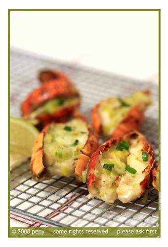 Lobster Tail Thermidor 1