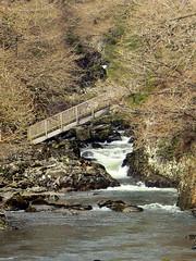 Miners bridge over the Afon Llugwy (eucharisto deo) Tags: bridge wales river waterfall falls snowdonia miners afon betsycoed llugwy