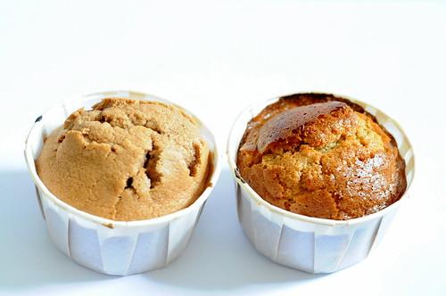 Experimental Sponge Cupcakes: Plain Flour vs Cake Flour