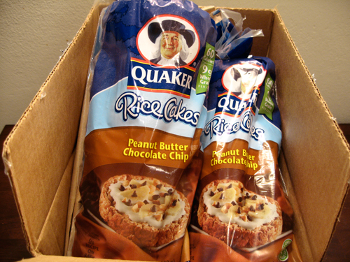 Quaker Rice Cakes Chocolate Part of the reason I love rice
