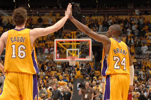 Pau Gasol y Kobe