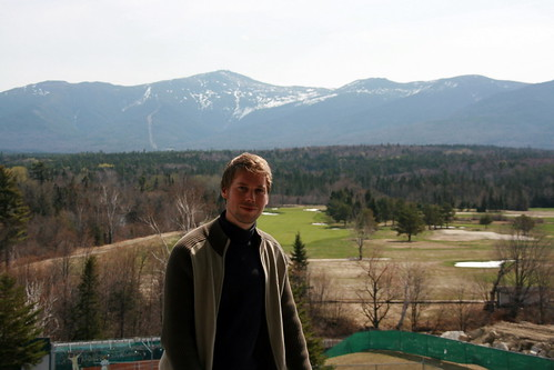 Me in Mount Washington Hotel