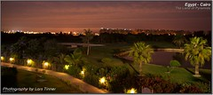 Cairo Night (Lars Tinner) Tags: africa panorama night golf nacht egypt hilton resort cairo egipto dreamland gypten egipte nachtaufnahme langzeitbelichtung kairo elcairo gyptenegypt 16x7 elcaire wwwtinnersg hiltondreamlandgolfresort httpwwwtinnersg tinnersg
