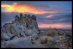 The Retreating Storm II (sandy.redding) Tags: california landscape desert hdr photomatix explored tokinaatx124prodx goldstaraward