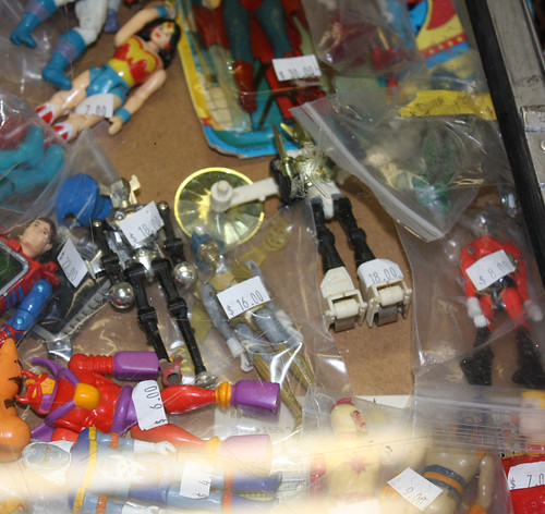 Toy Show: Rather worn Micronauts
