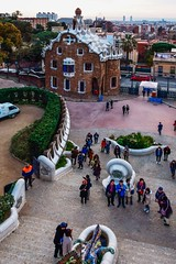 Gaudi Architecture 4 (withcamera) Tags: 스페인 바르셀로나 구엘공원 가우디건축물 spain españa barcelona guellpark gaudiarchitecture
