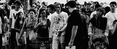 Chaotic Order. (digitalpimp.) Tags: street bw interestingness singapore candid scout explore walkabout cbd picnik orchardroad konicaminolta a300 scottsroad theworldthroughmyeyes digitalpimp sonyalpha nathanhayag sonyaf1870mmf3556 bananats
