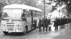 On the return (theirhistory) Tags: boy bus coach cap raincoat outing unifom trp rew779