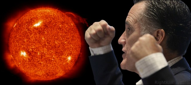 Romney vs Sun by RightKlik