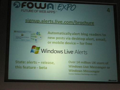 Windows Live Alerts