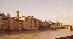Firenze (spiderfrank) Tags: italy 6x6 ponte firenze arno toscana kiev60 kodakportra160nc fiune