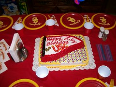 my very USC birthday party