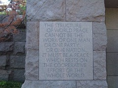 From FDR Memorial