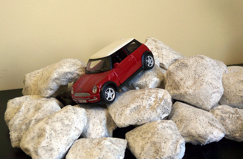 Off-roading Mini!