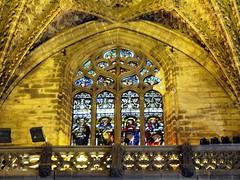 Catedral de Sevilla (Graça Vargas) Tags: españa sevilla spain cathedral stainedglass explore vitral ph227 interestingness122 i500 graçavargas duetos ©2007graçavargasallrightsreserved 27610220109