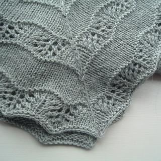 Ravelry: Alpaca Baby Shawl pattern by Marie Grace Smith