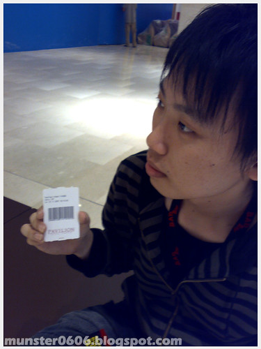 Camwhoring with Parking Ticket