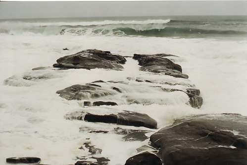 on the rocks,yachats