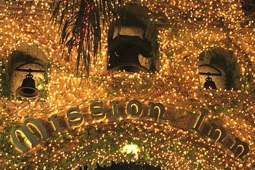 So Lost And Found: Day 24, Christmas Lights, Mission Inn, Riverside