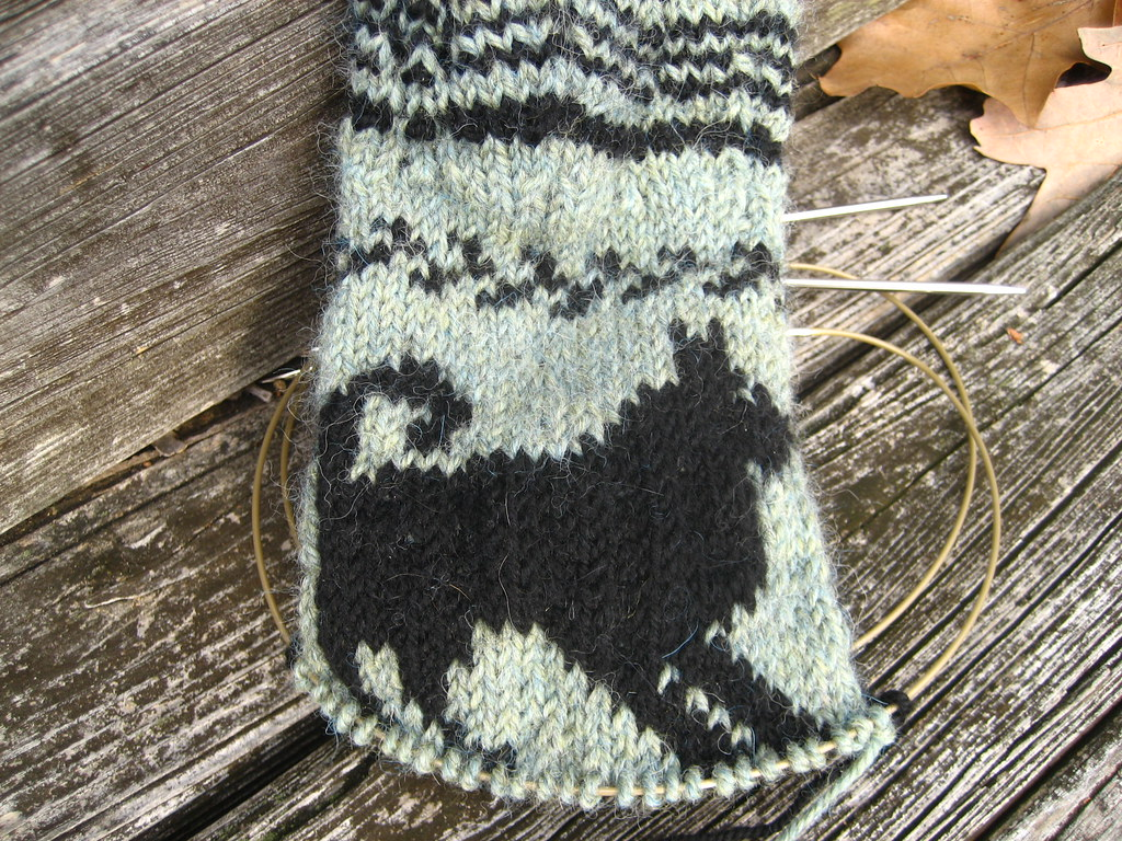 Dog Mittens RH started