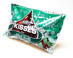 mint truffle kisses