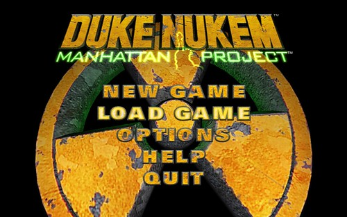 Wide Screen Duke Nukem Manhattan Project