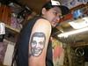 Bob Dobbs Tattoo 2003