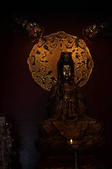 Quan Yin (Kannon) - Goddess of Mercy (kinjotx) Tags: statue texas houston buddhism kannon quanyin kwanyin guanyin houstonist 0274 teochewtemple assignmenthouston21