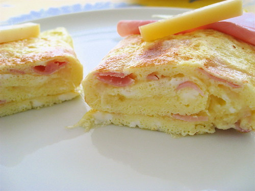 Omelette Jambon Fromage_2