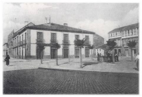 Praza de Galicia.