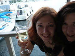 Vickie & Angie (tofuguns) Tags: lake union radish vickie