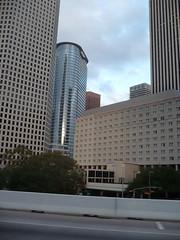 Downtown Houston (Stuck in Moscow) Tags: houston enron tallbuildings