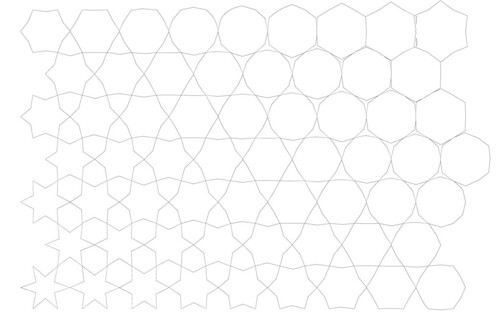 tessellations to color. Very interesting tessellation