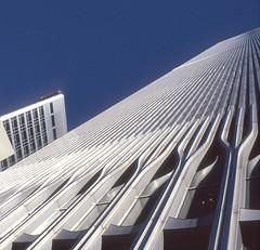 Lost view  #1 (Rob de Hero) Tags: nyc ny newyork analog manhattan worldtradecenter towers twin slide dia twintowers wtc analogue