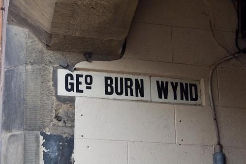 Geo. Burn Wynd