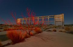 Burning Bush (Noel Kerns) Tags: abandoned station night army texas force air bomber rattlesnake base airfield pyote betterthangood