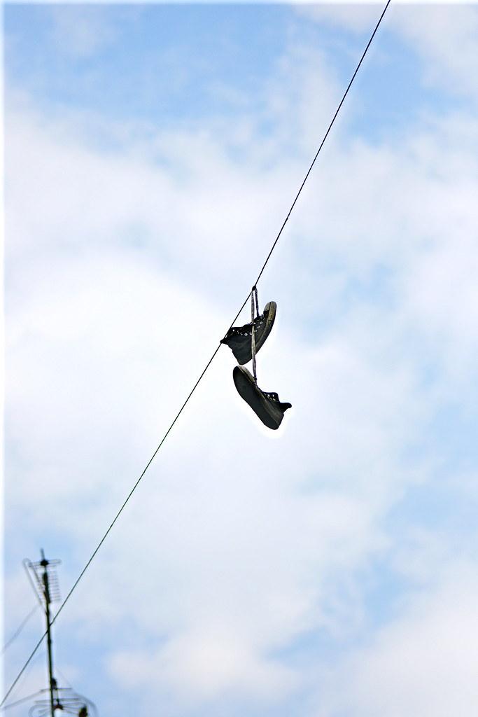 Con los pies en el aire...